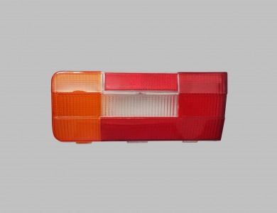 Rear stop lights glass left