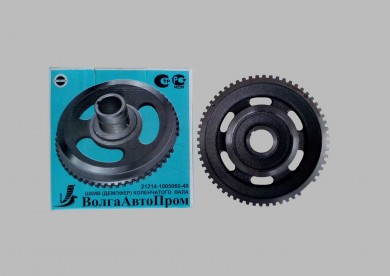 Crankshaft damper pulley