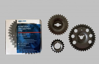 Sprockets without sensor set 3 pcs. AvtoVAZ