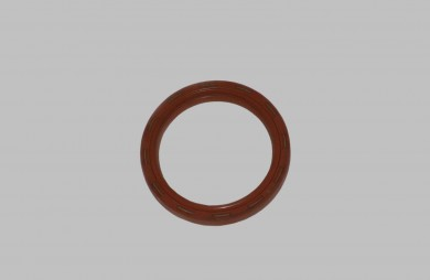 Oil seal, crankshaft, rear - silicone
